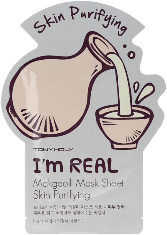 Im Makgeolli Mask Sheet-skin Purifying