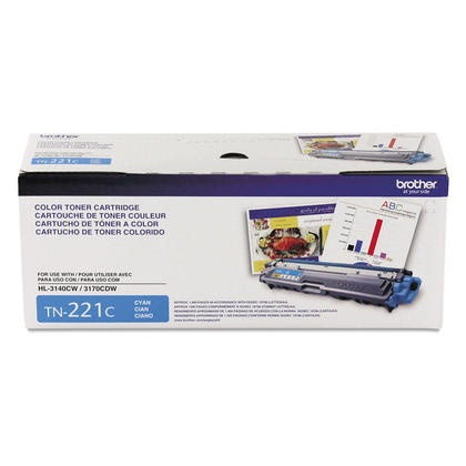 Brother MFC-9340CDW cyan cartouche de toner originale