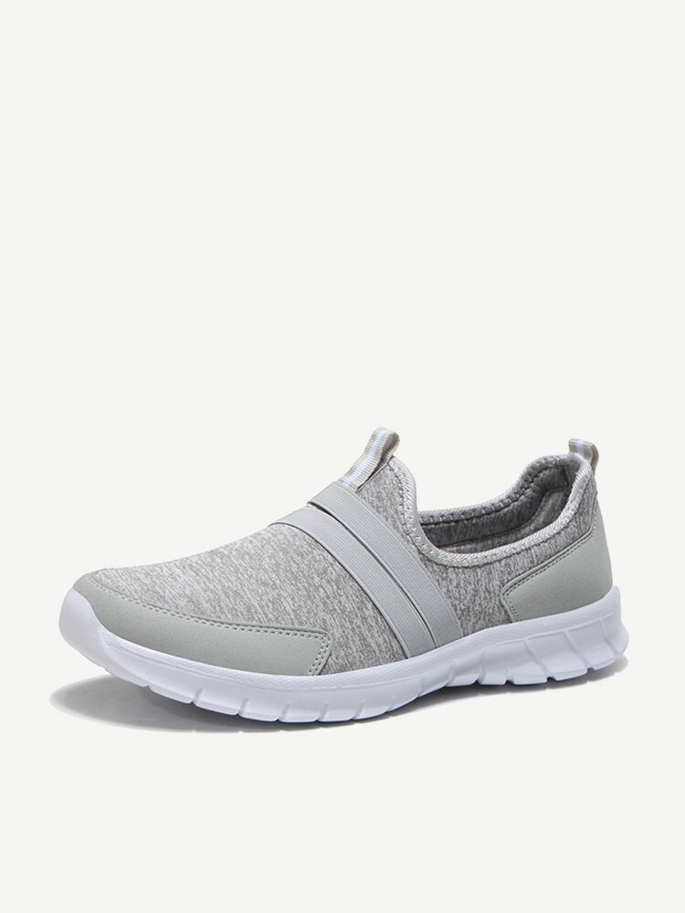 Lightweight Mesh Slip On Soft Lazy Casual Athletic Shoes