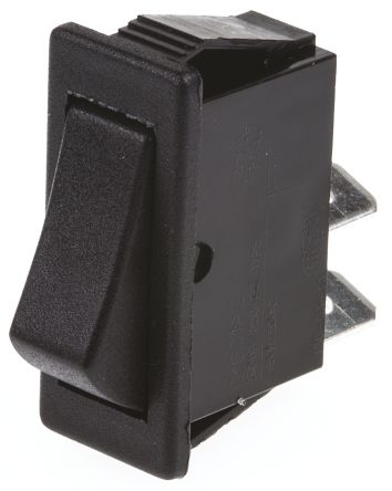 Arcolectric Single Pole Single Throw (SPST), (On)-Off Rocker Switch Panel Mount