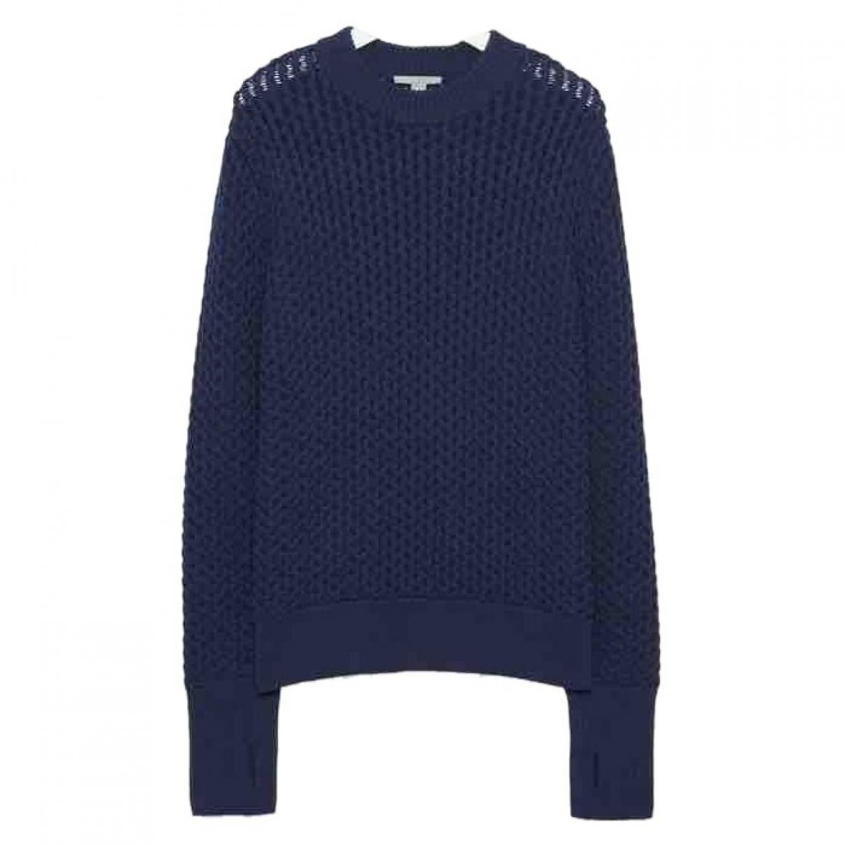 Cos - Pull   pour femme en coton - bleu