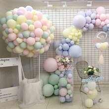 100 piezas set globo de color al azar