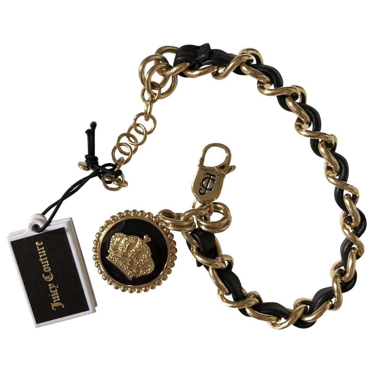 Juicy Couture - Bracelet   pour femme en metal - noir