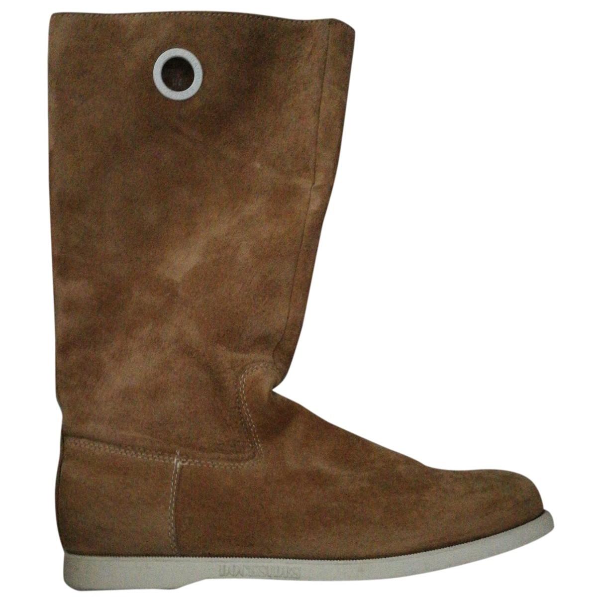 Sebago \N Brown Suede Boots for Women 41 EU