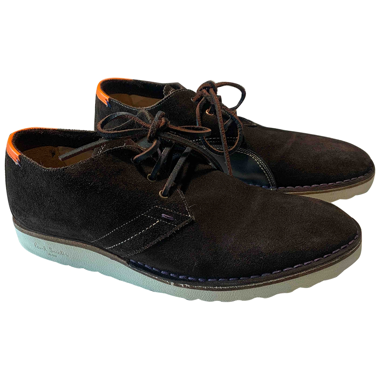 Paul Smith \N Brown Suede Lace ups for Men 40 EU