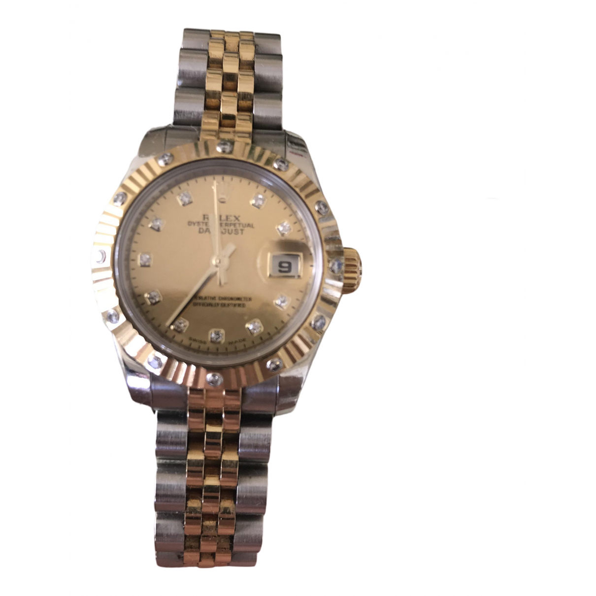 Rolex Lady Oyster Perpetual 26mm Uhr in  Gold Vergoldet