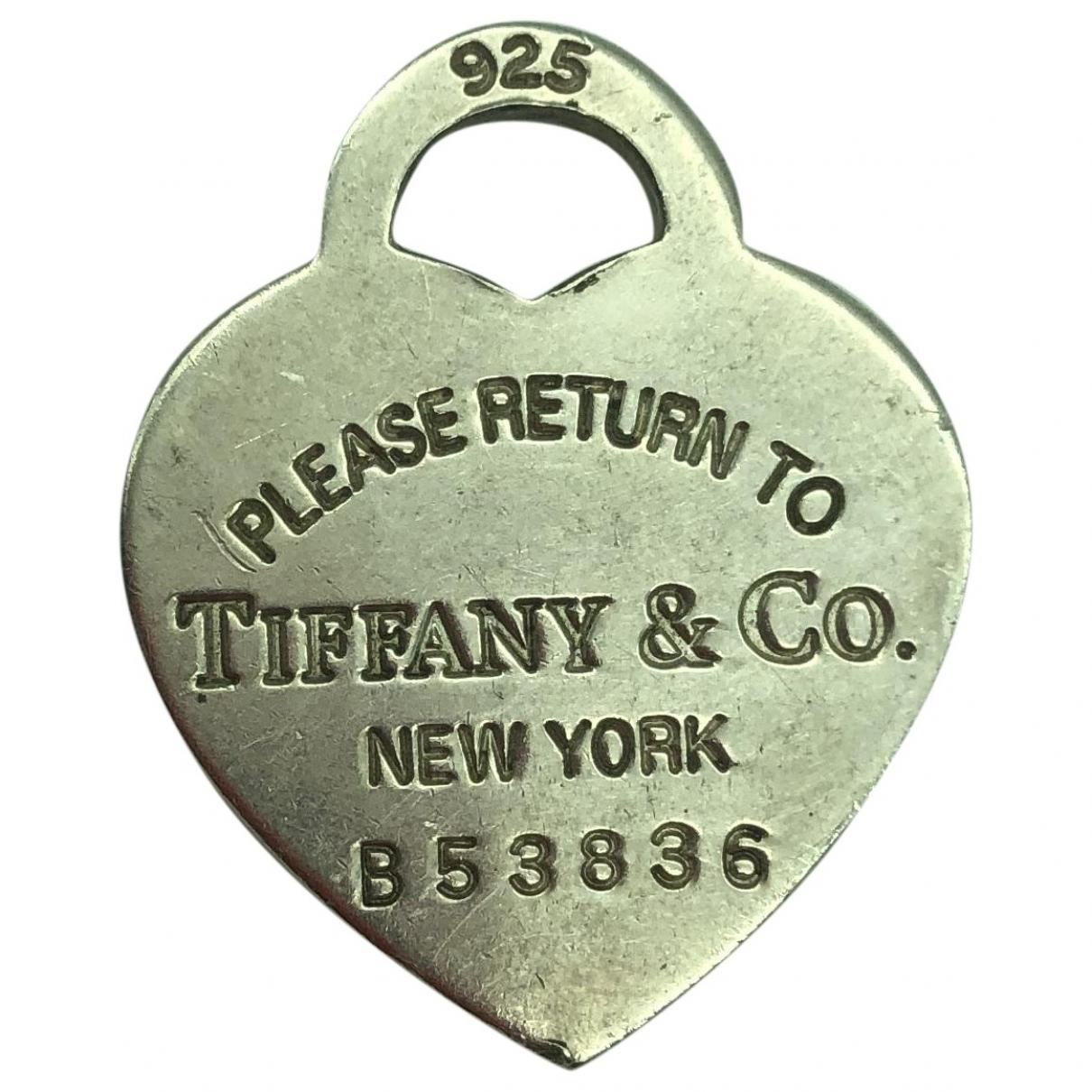 Tiffany & Co Return to Tiffany Silver Silver pendant for Women \N