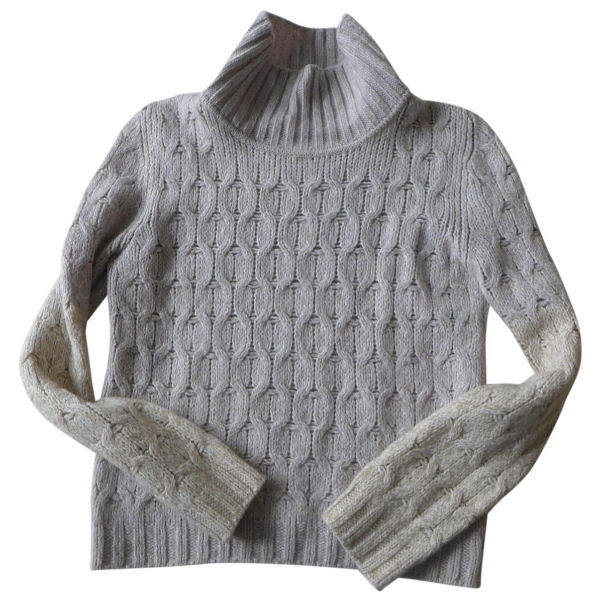 Marc Cain - Pull   pour femme en laine - beige