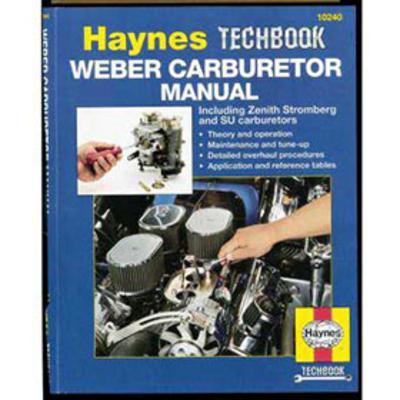 Haynes Weber Carburetor Manual - 10240