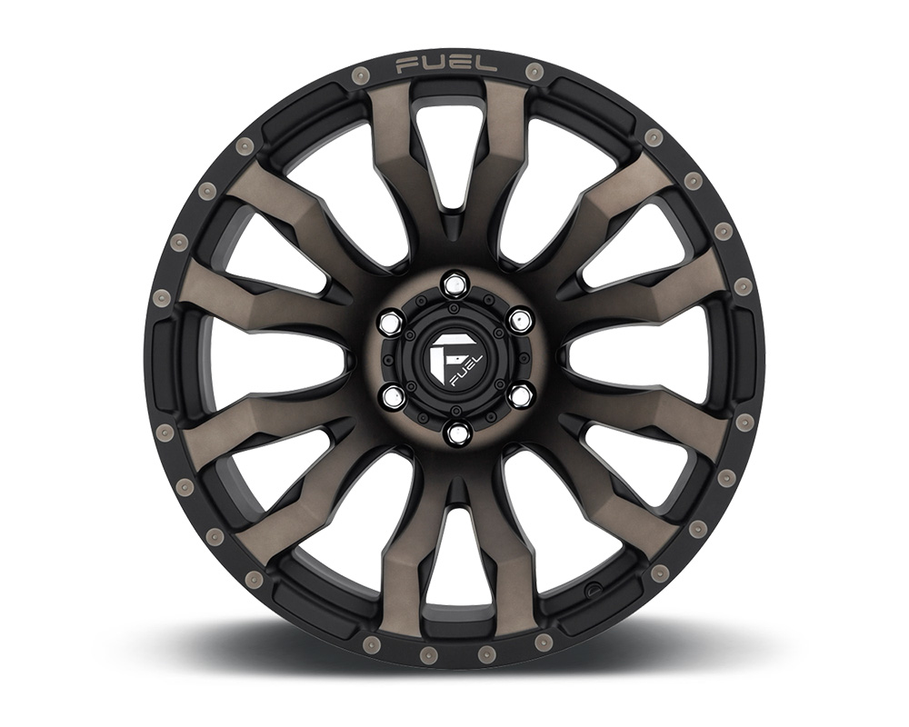 Fuel D674 Blitz Matte Black & Machined w/ DDT 1-Piece Cast Wheel 18x9 8x165.1 01mm