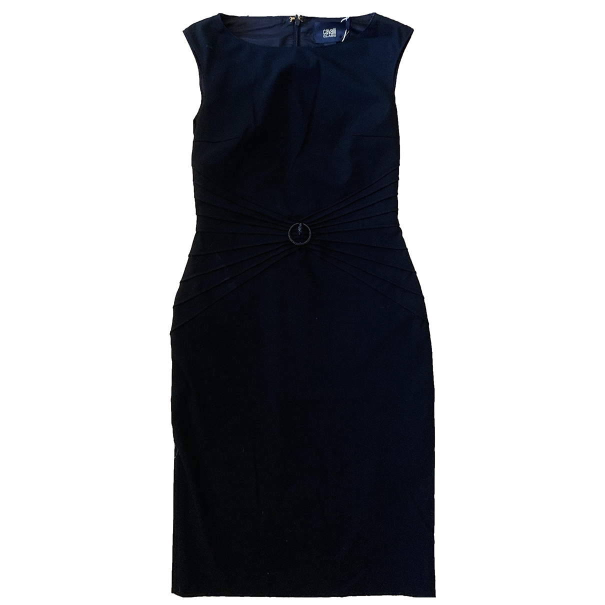 Class Cavalli \N Kleid in  Schwarz Polyester