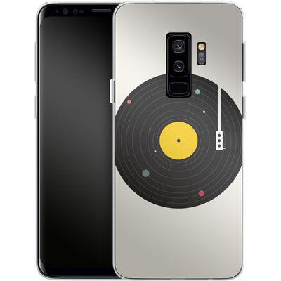 Samsung Galaxy S9 Plus Silikon Handyhuelle - Music Everywhere von Florent Bodart
