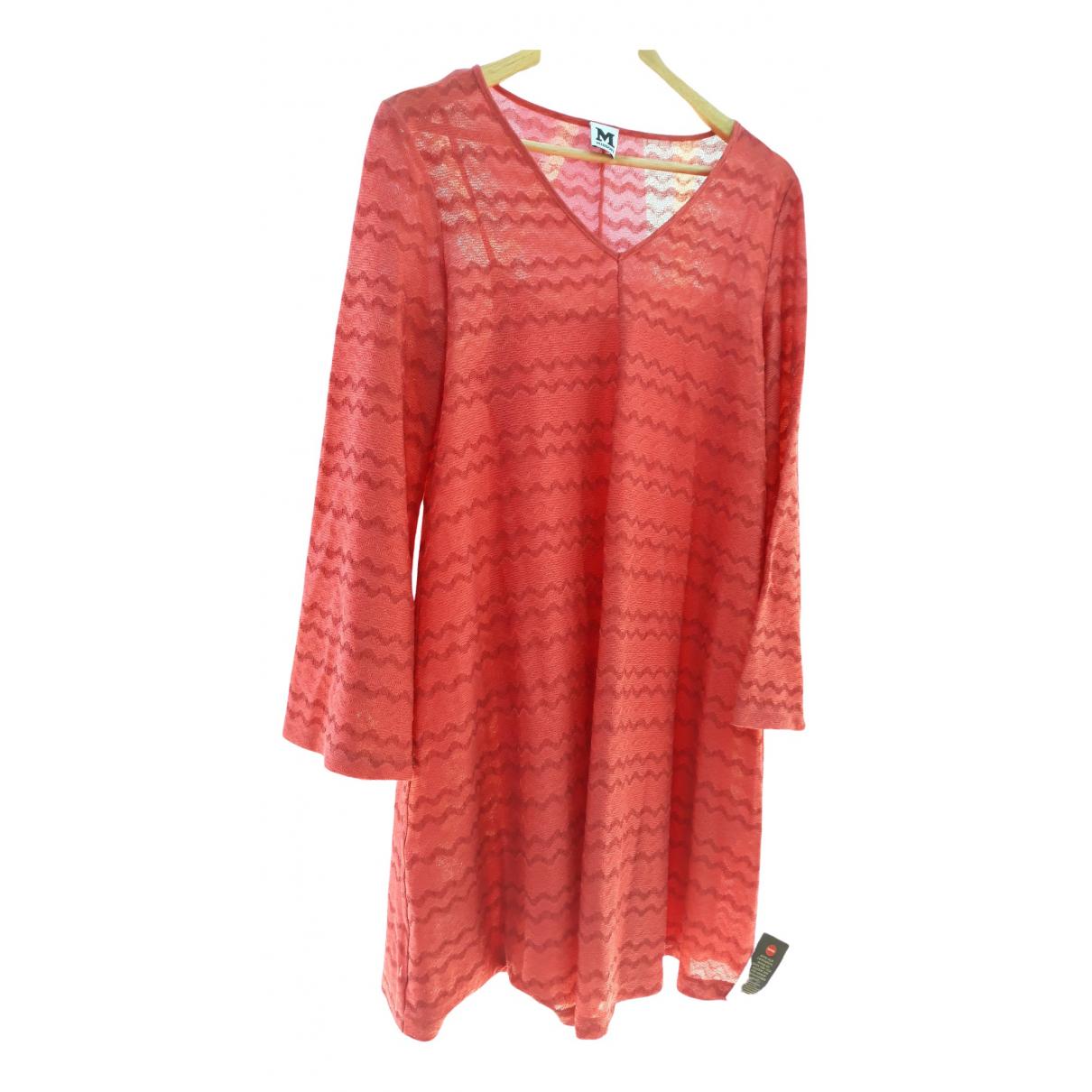 M Missoni \N Kleid in  Orange Baumwolle