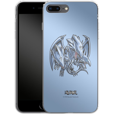Apple iPhone 7 Plus Silikon Handyhuelle - Blue-Eyes Ultimate Dragon SD von Yu-Gi-Oh!