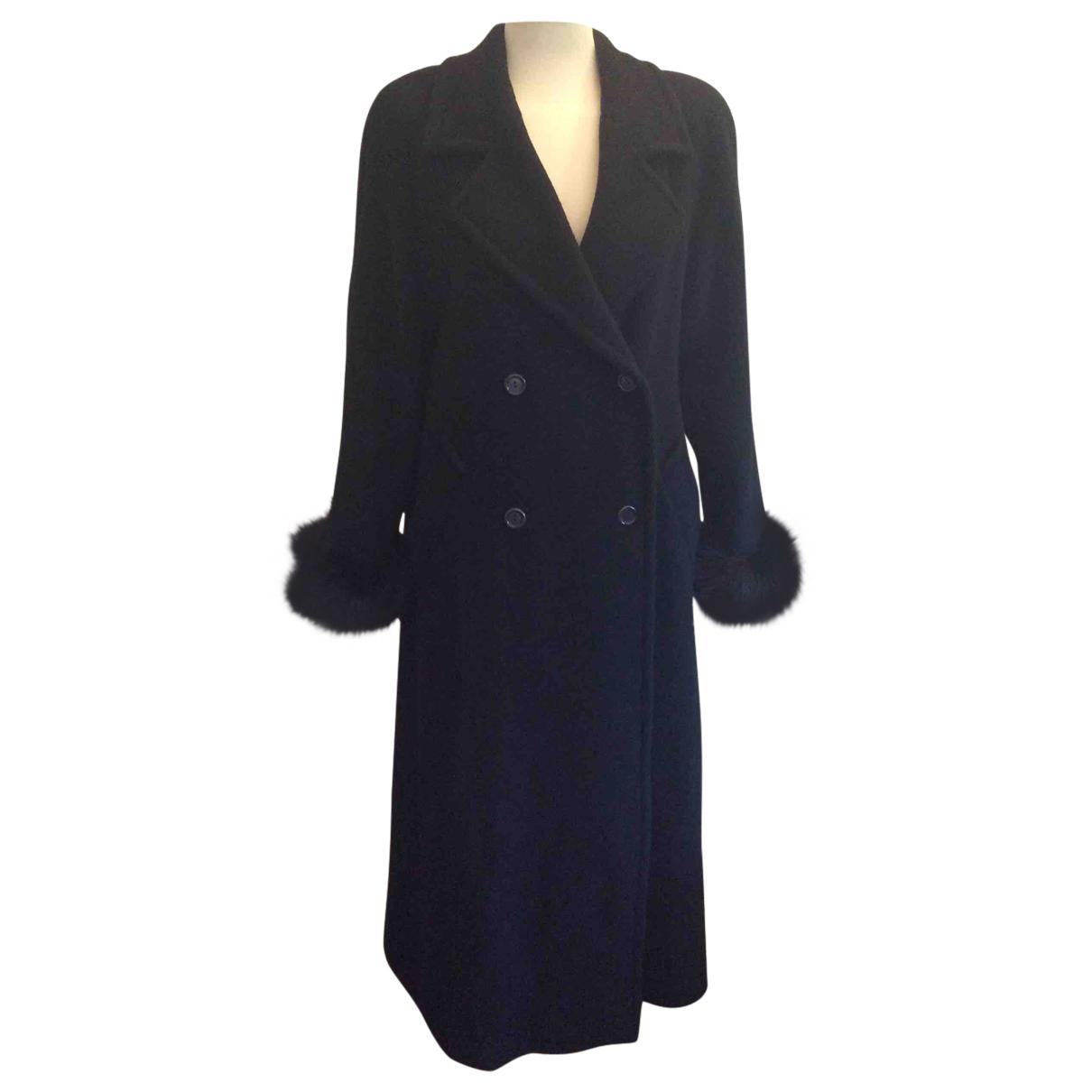 Marella N Black Wool coat for Women 38 FR