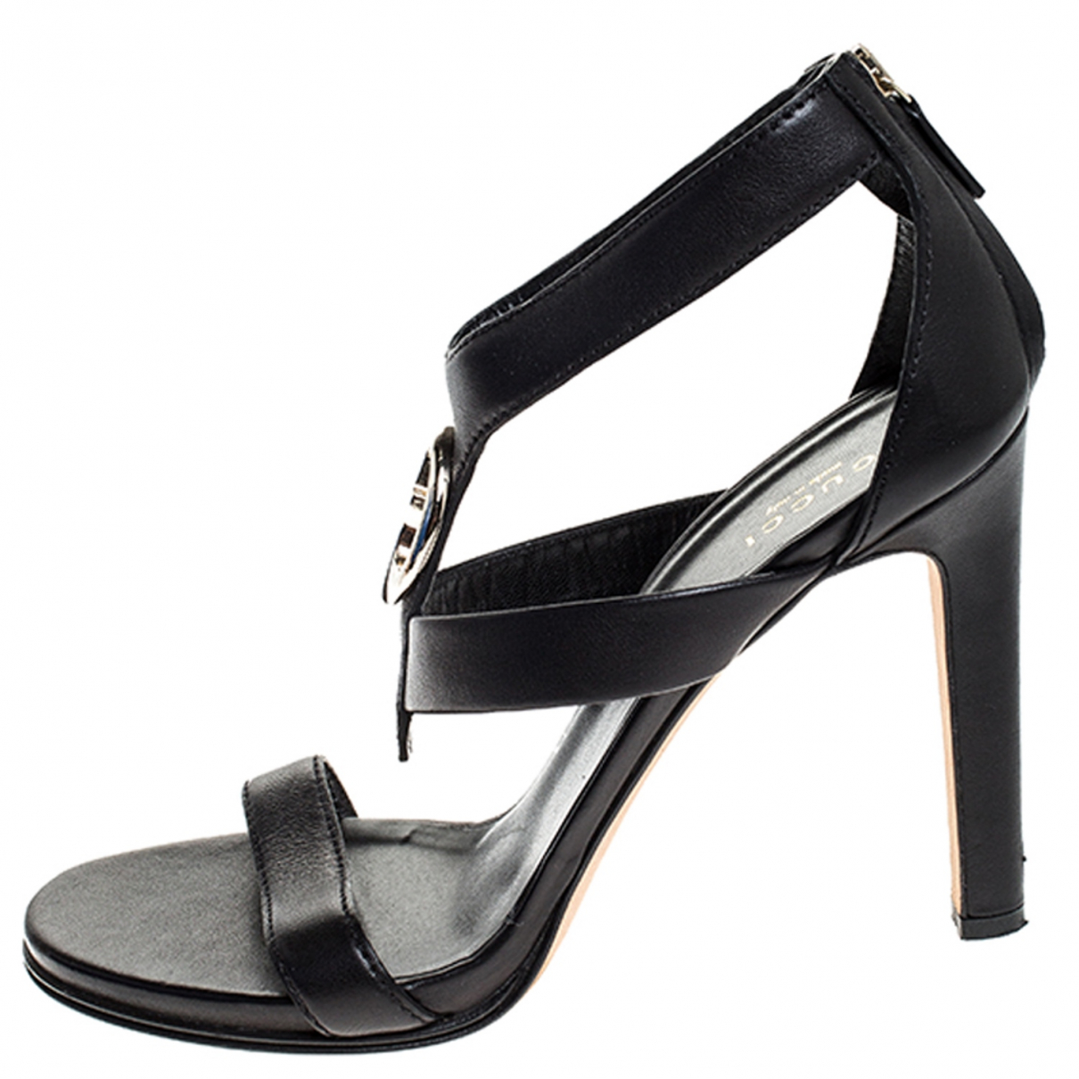 Gucci \N Black Leather Sandals for Women 8 US