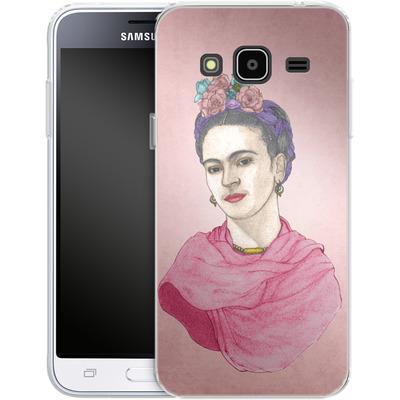 Samsung Galaxy J3 (2016) Silikon Handyhuelle - Frida von Barruf