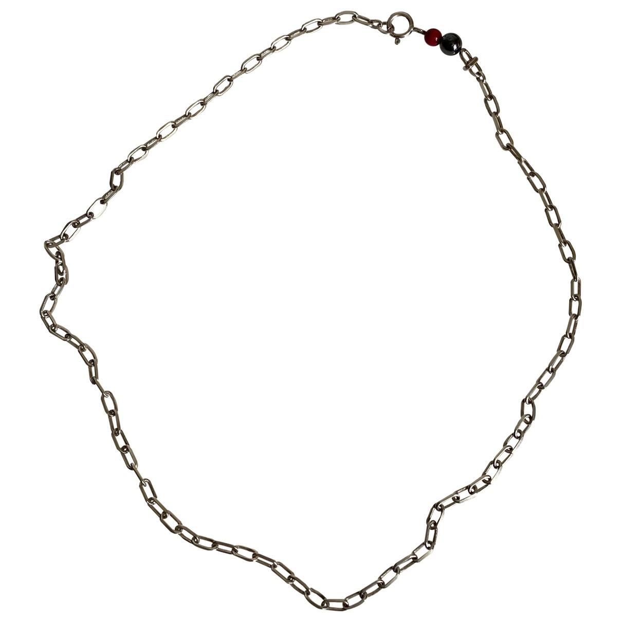 Collar de Plata Helena Rhoner