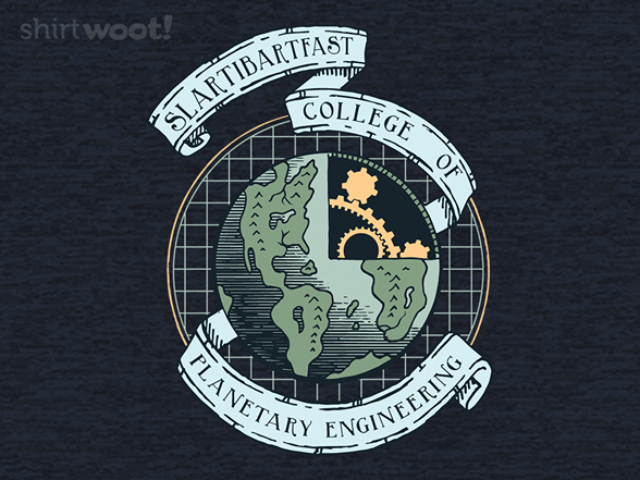 Planetary Engineering School T Shirt