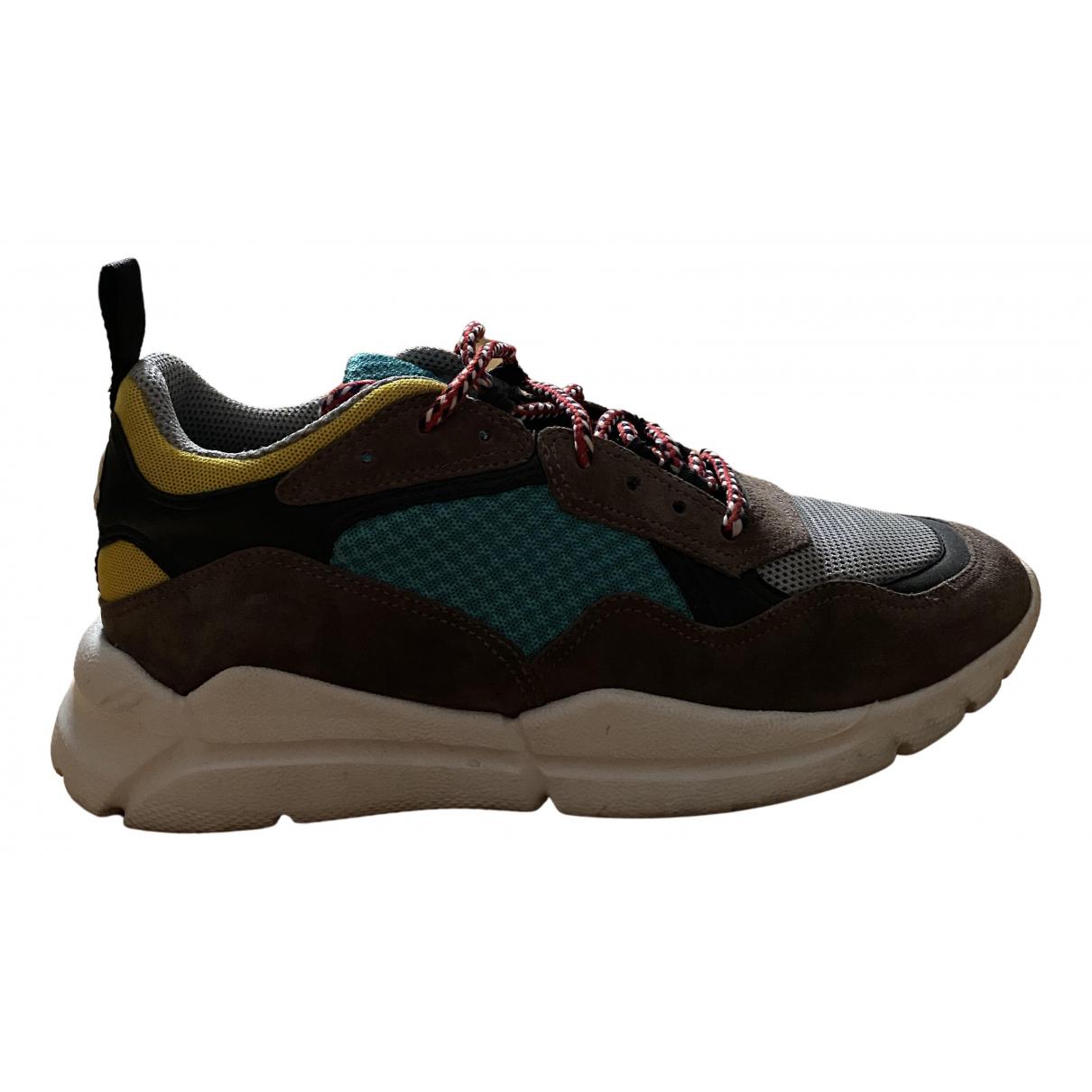 Moncler \N Sneakers in Leinen