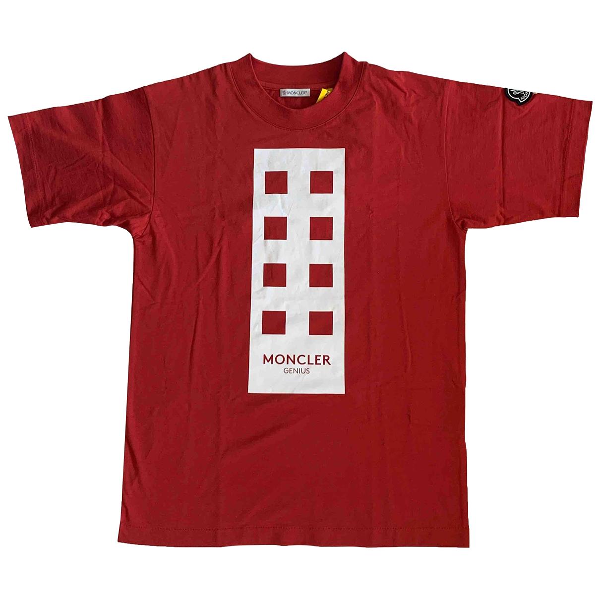 Moncler Genius - Top Moncler n°8 Palm Angels pour femme en coton - rouge