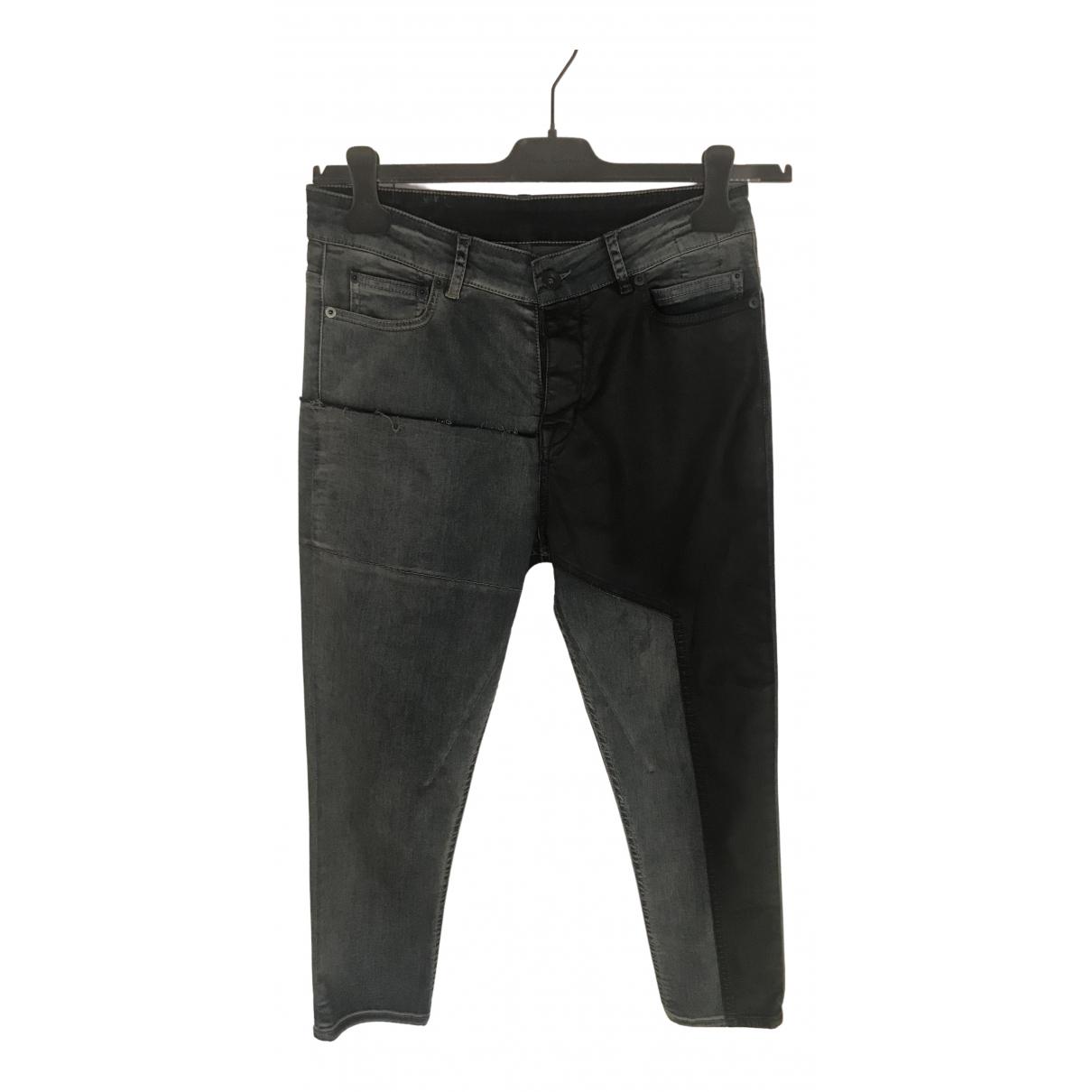 Rick Owens Drkshdw \N Blue Cotton Jeans for Women 38 FR