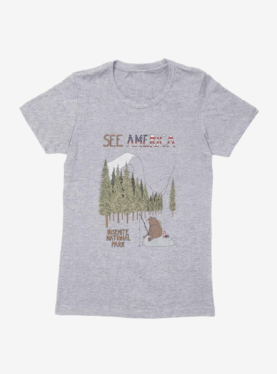See America Yosemite National Park Womens T-Shirt