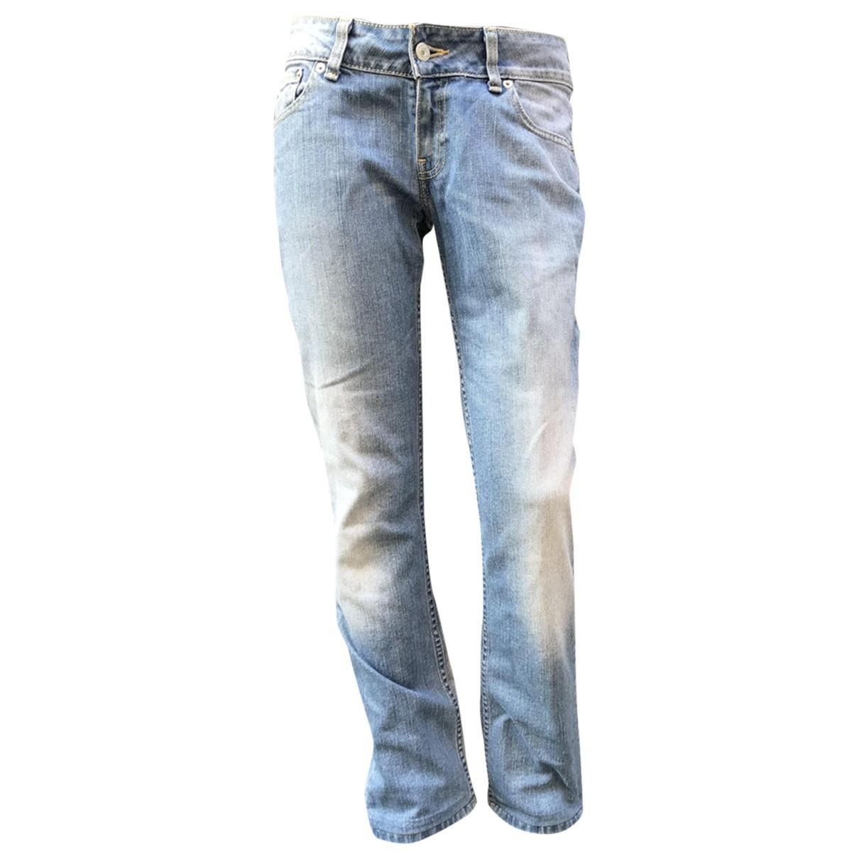 Levi's N Blue Cotton Jeans for Women 30 US