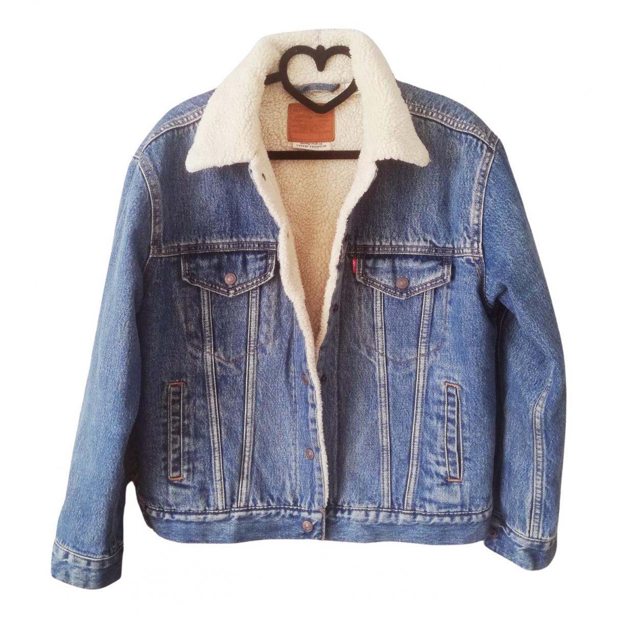 Levi's \N Blue Wool jacket for Women S International