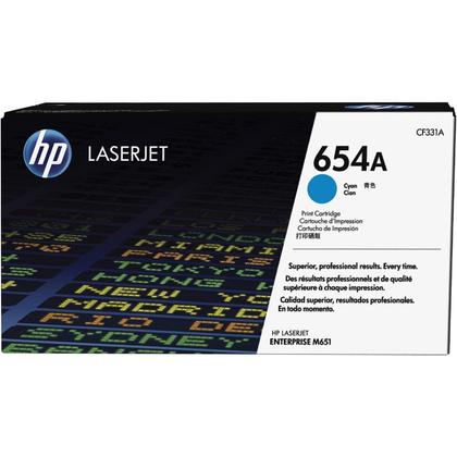 HP 654A CF331A Original Cyan Toner Cartridge