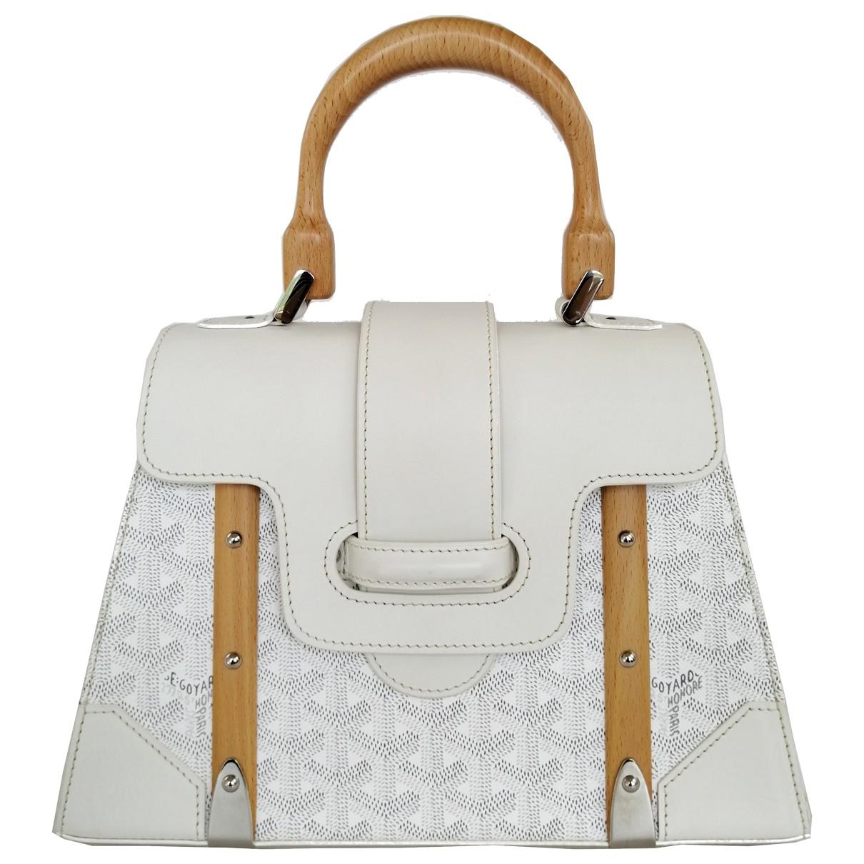 Goyard Saïgon White Cotton handbag for Women \N