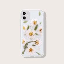 1 Stueck iPhone Huelle mit Blumen Muster