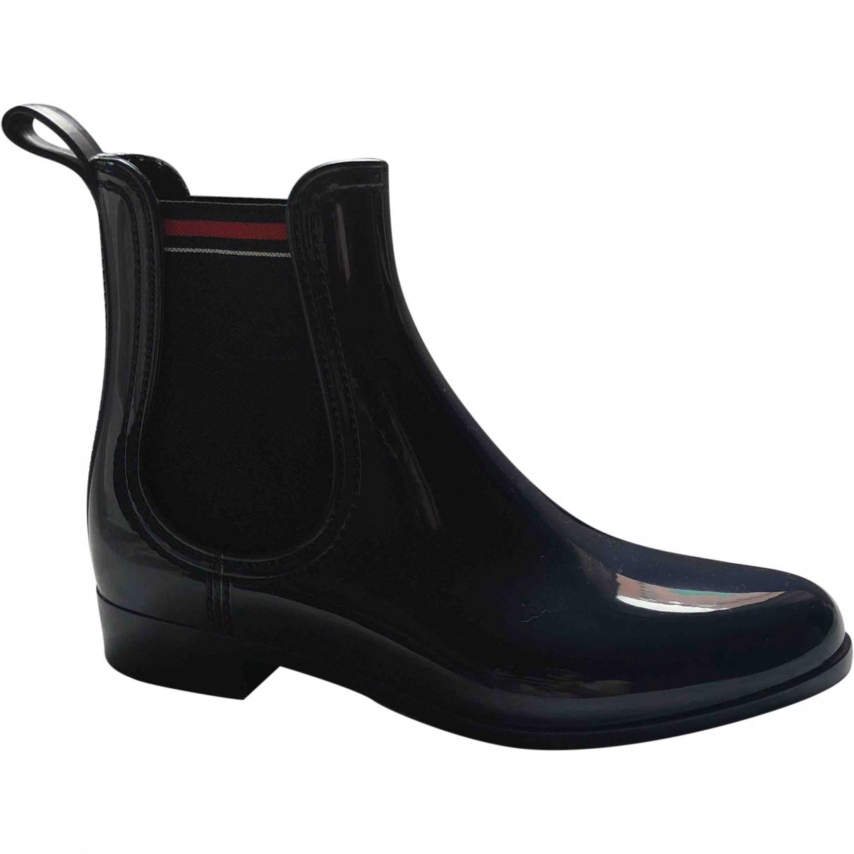 Gucci - Boots   pour femme - marine