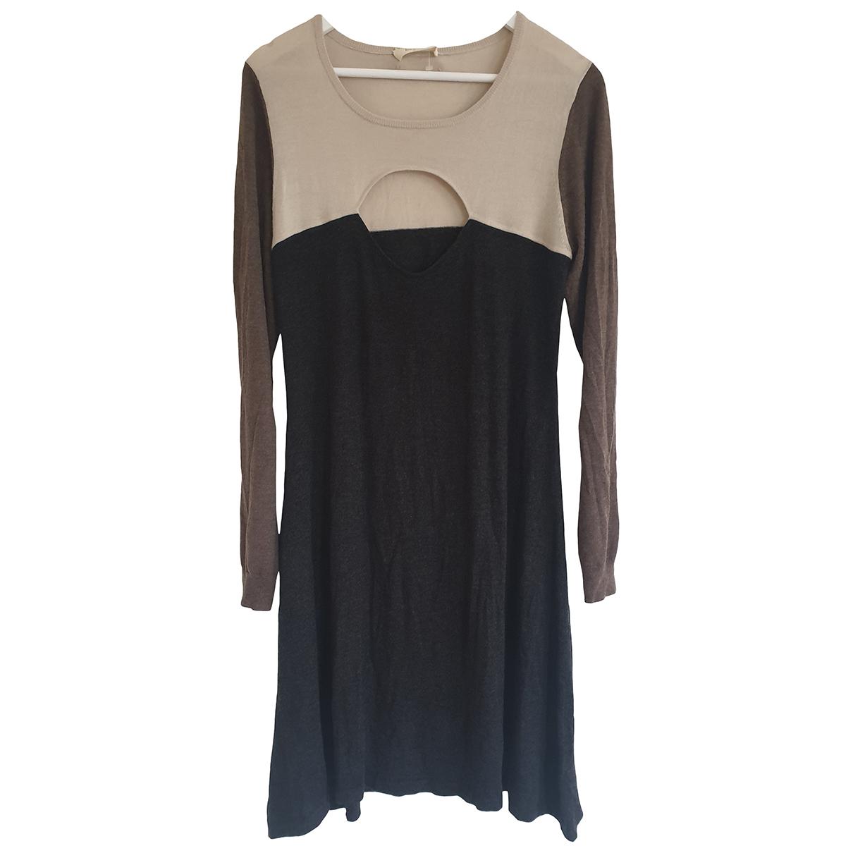 Ba&sh - Robe   pour femme en laine - gris