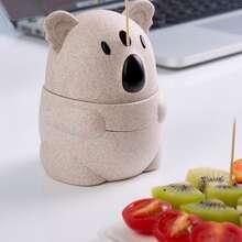 1 Stueck Zahnstocherhalter mit Koala Design