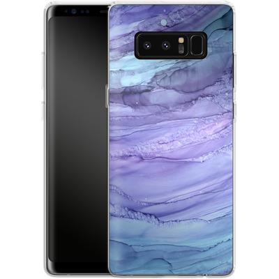 Samsung Galaxy Note 8 Silikon Handyhuelle - Mermaid Marble von Becky Starsmore