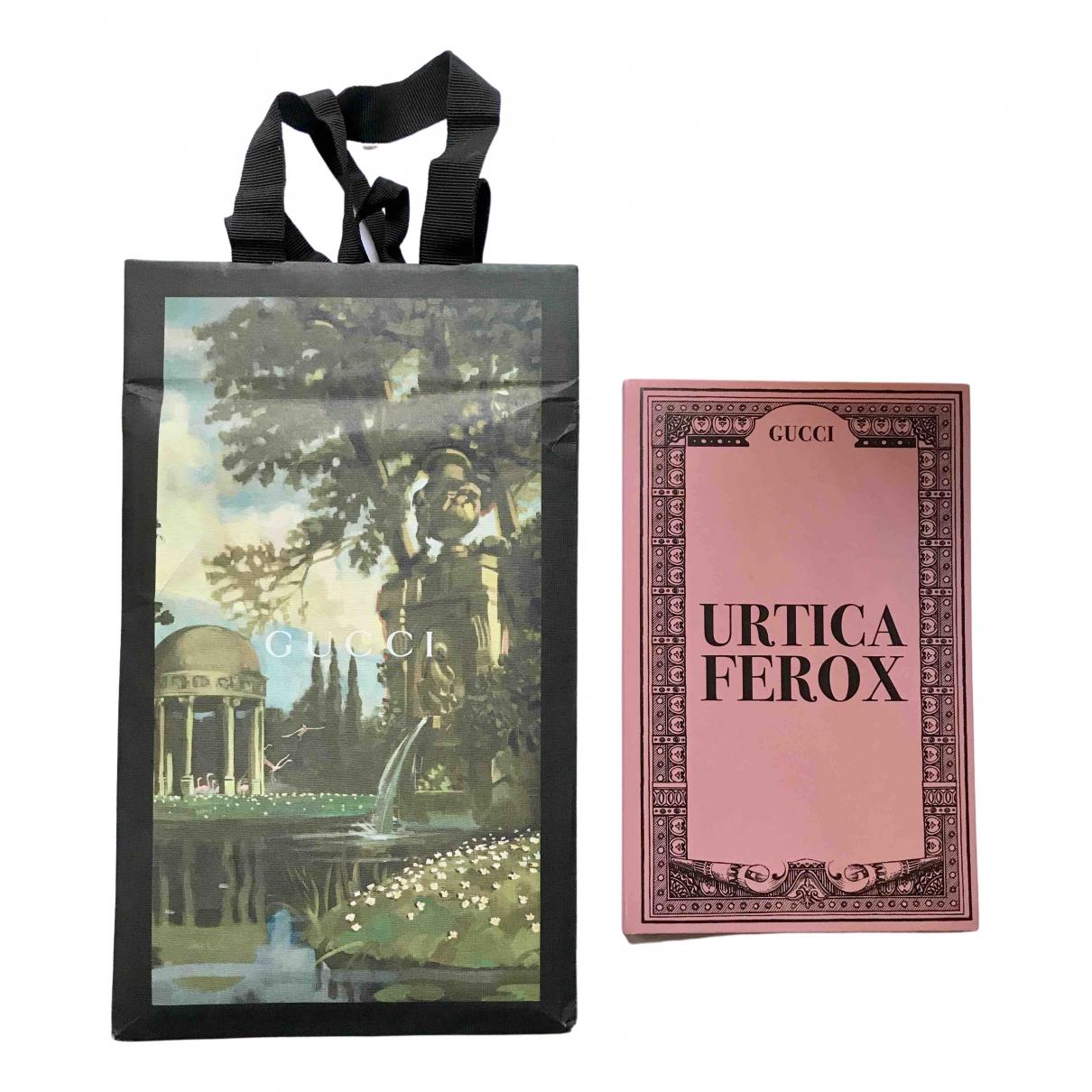 Gucci - Objets & Deco Urtica Ferox pour lifestyle en coton - rose