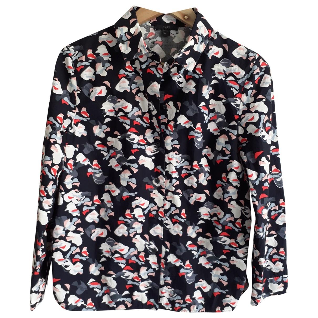 Cos - Top   pour femme en coton - multicolore