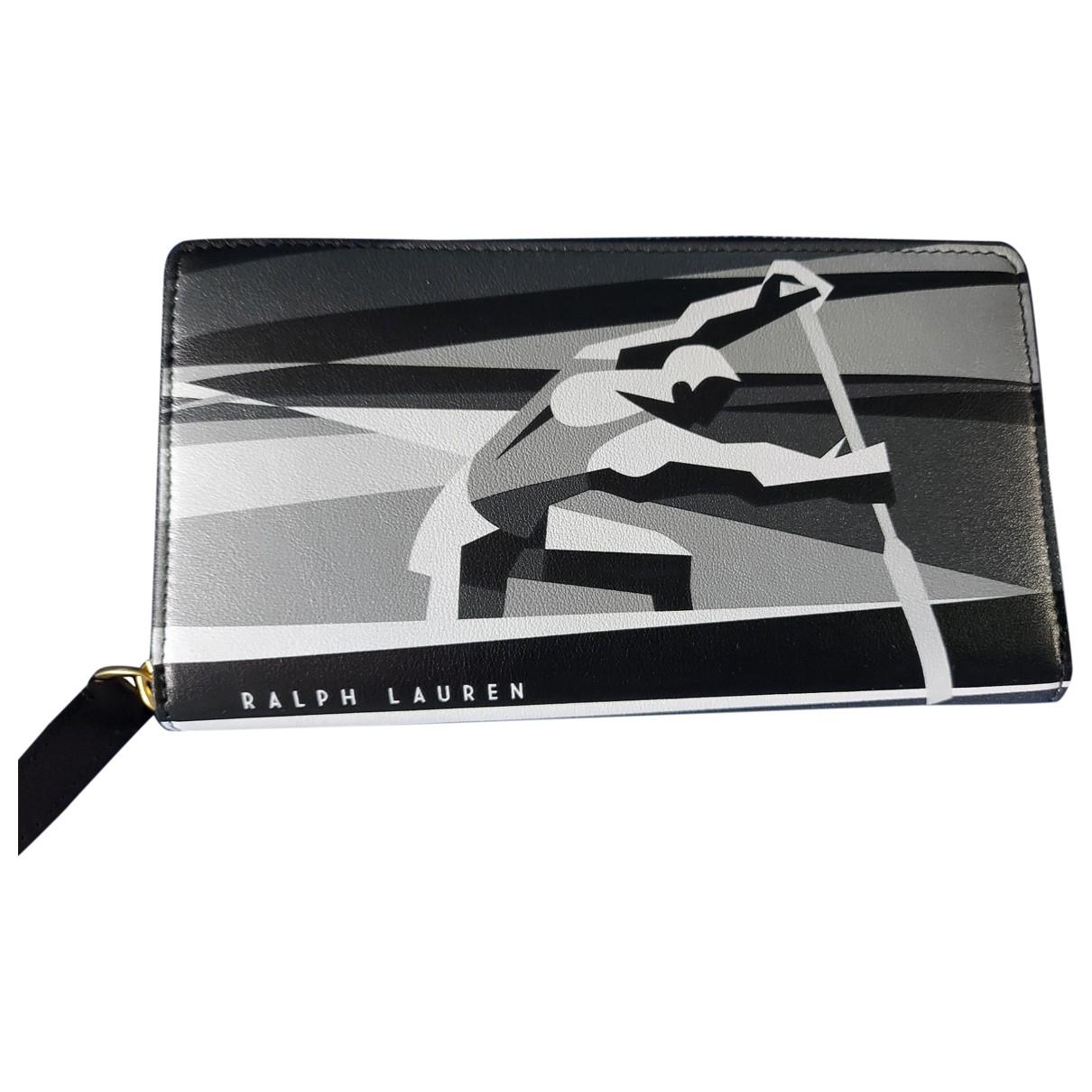 Ralph Lauren \N Portemonnaie in  Bunt Leder