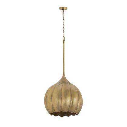 8985-051 Iron Melon Large Ceiling Lamp  In