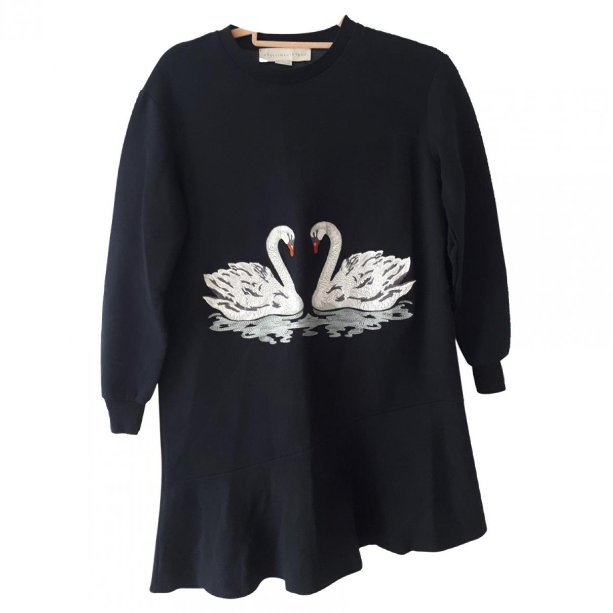 Stella Mccartney \N Navy Cotton dress for Women 36 IT