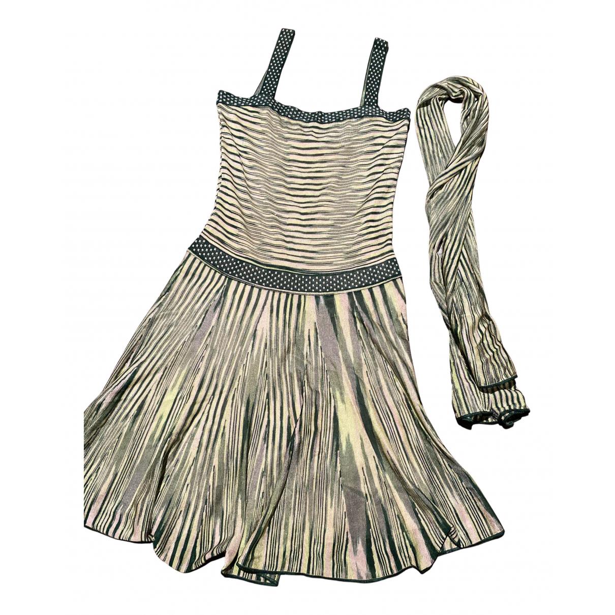 Missoni \N Kleid in  Gruen Viskose