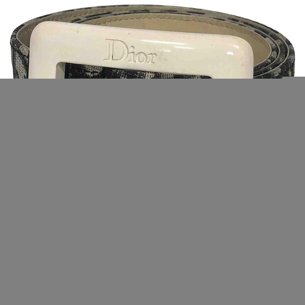 Dior \N Cloth belt for Women 90 cm