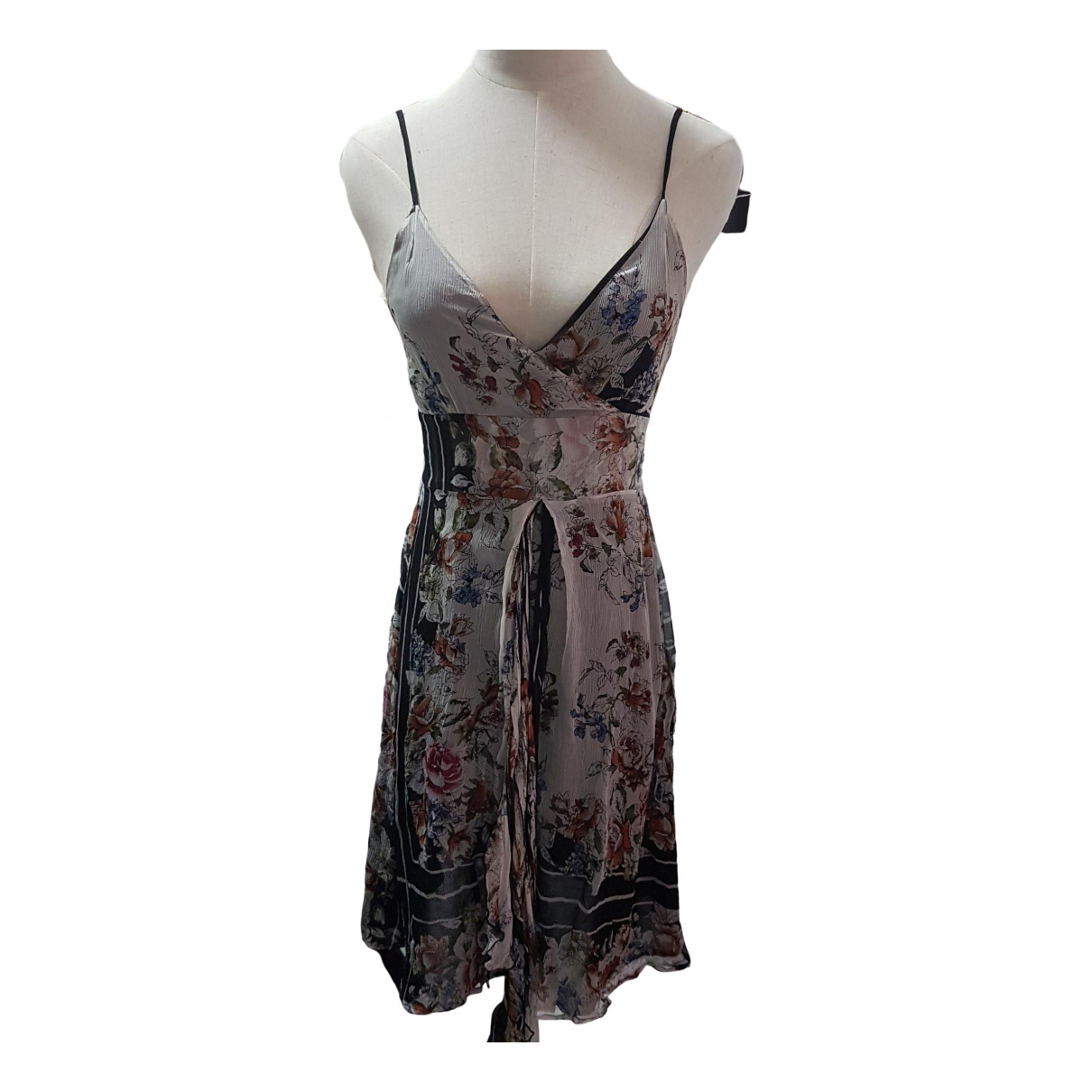 Non Signé / Unsigned \N Black Silk dress for Women 6 UK
