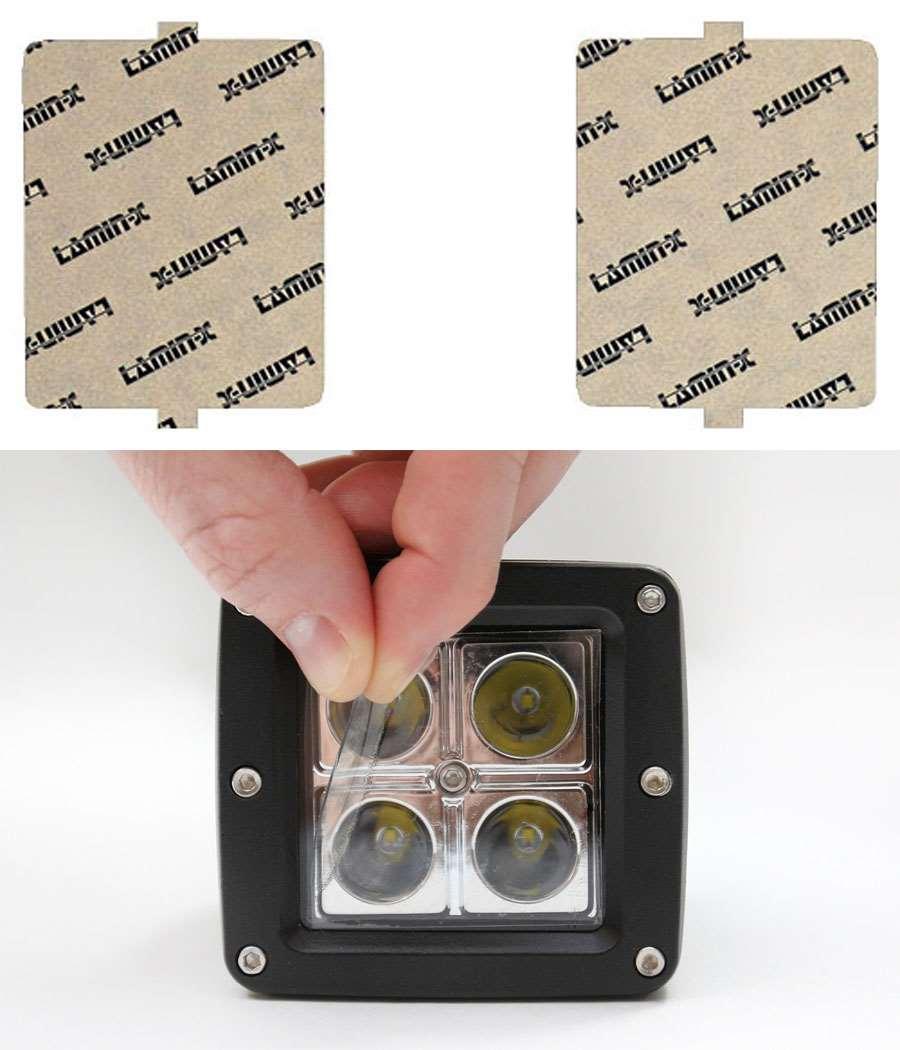 Infiniti M45 03-05 Clear Fog Light Covers Lamin-X I109CL