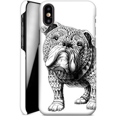 Apple iPhone X Smartphone Huelle - English Bulldog von BIOWORKZ