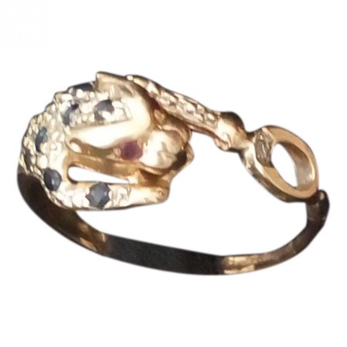 - Bague Motifs Coeurs pour femme en or rose - dore