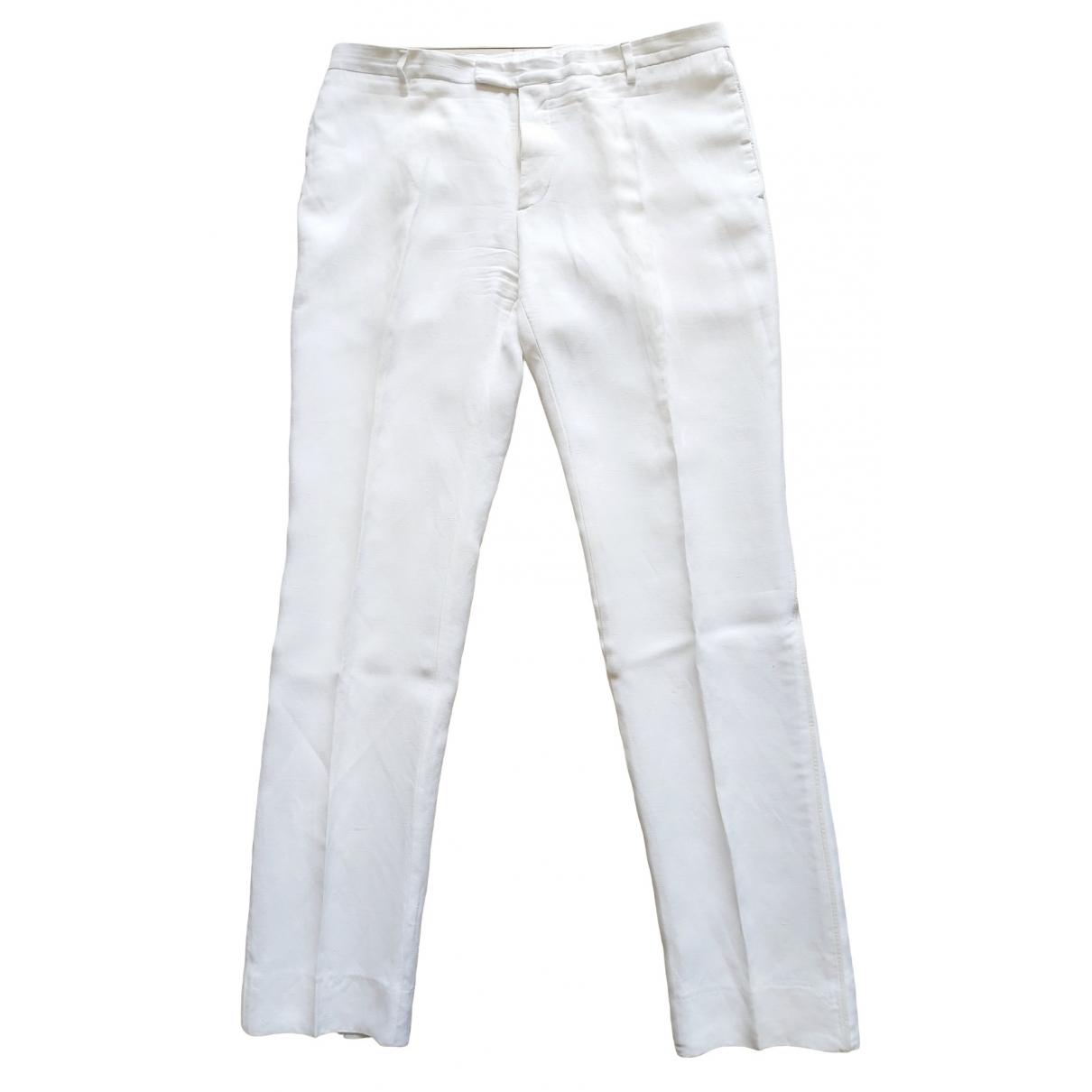 Porsche Design \N White Trousers for Men 50 IT