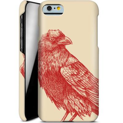 Apple iPhone 6 Smartphone Huelle - Red Raven von Terry Fan