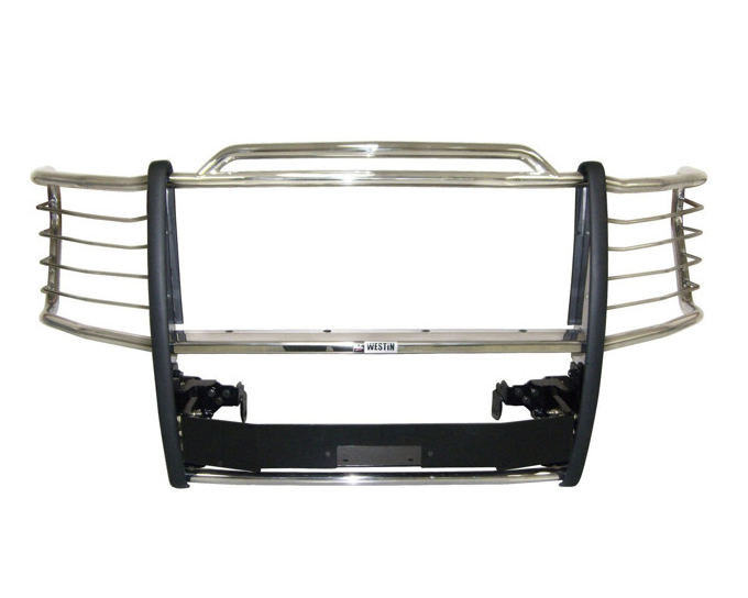Westin Automotive 45-92310 Sportsman Winch Mount Grille Guard Stainless Steel Chevrolet Silverado 3500 07-10